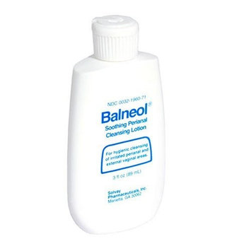 Balneol Soothing Perianal Cleansing Lotion, 3 fl oz (89 ml)