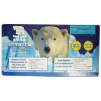 Coldpax Medical LLC BOO-BOO BEAR Powder Cold Pak With Magnetic Therapy Bear
