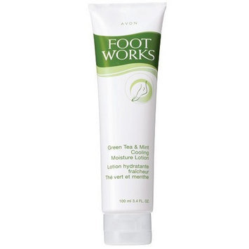 avon footworks cooling lotion Avon Foot Works Green Tea & Mint Cooling Moisture Foot Lotion