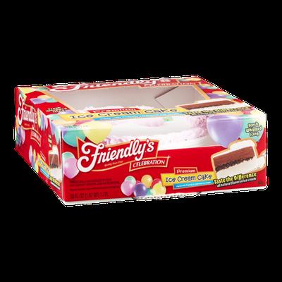 Friendly's Premium Ice Cream Cake Celebration