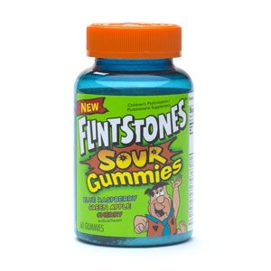 Flintstones Sour Gummies Multivitamin/Multimineral Supplement for Children