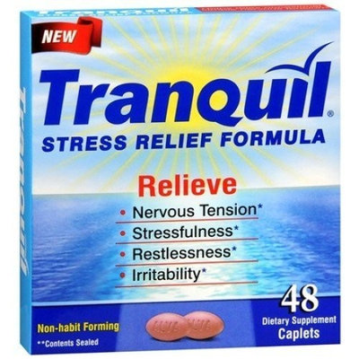 Tranquil Stress Relief Formula, 48 Count Caplets