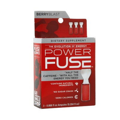 Fuse Science PowerFuse Energy Infused Drops Berry Blast