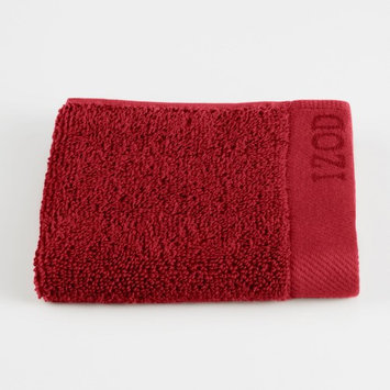 Izod Classic Egyptian Wash Cloth Color: Pompei Red