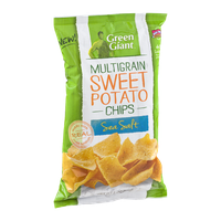 Green Giant Multigrain Sweet Potato Chips Sea Salt