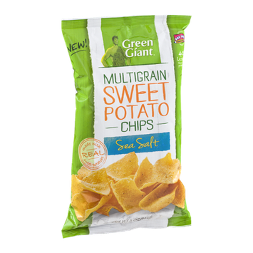 Green Giant Multigrain Sweet Potato Chips Sea Salt