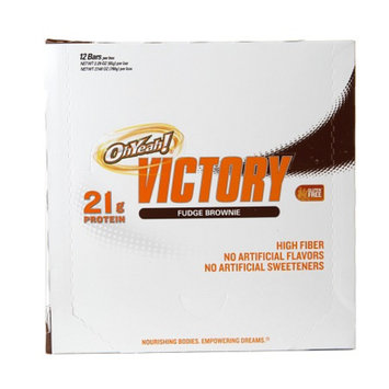 ISS Oh Yeah! Victory Protein Bars, Fudge Brownie, 12 ea