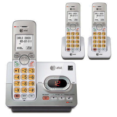 At & T At & t 3 Handset Answering System w/ Caller ID, Call Waiting EL52303