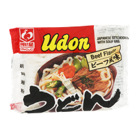 Myojo Udon Japanese Style Noodles with Soup Base Beef Flavor