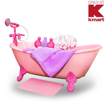 Enertec Enterprises Limited What A Doll 11 Piece Bath Set - ENERTEC ENTERPRISES LIMITED