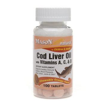 Mason Natural Cod Liver Oil