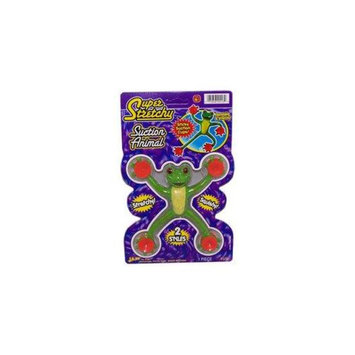 Ja-Ru 00413S-24 Super Stretchy Suction Animals - Case of 24