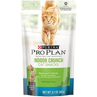 PRO PLAN® NUTRITION THAT PERFORM® Indoor Crunch Cat Snack With Real Tuna