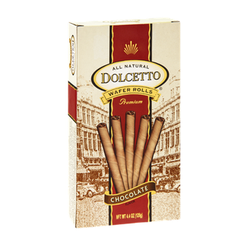 Dolcetto All Natural Premium Chocolate Wafter Rolls