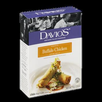 Davio's Handmade Buffalo Chicken Spring Rolls - 6 CT