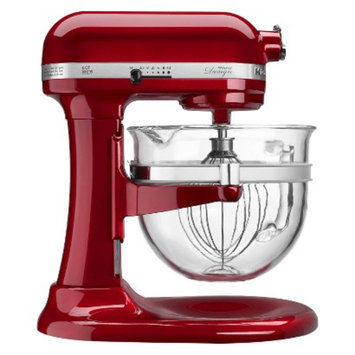 KitchenAid Professional Pro 600 Design 6 Qt Stand Mixer with Glass