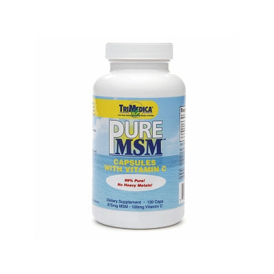 TriMedica Pure MSM with Vitamin C