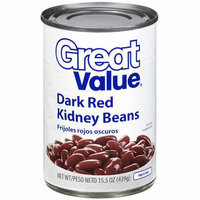 Great Value : Dark Red Kidney Beans