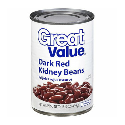 Great Value : Dark Red Kidney Beans