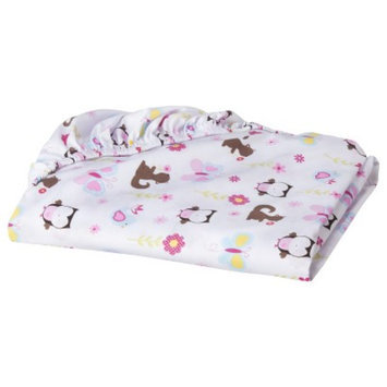 Woodland Wonders Fitted Crib Sheet by Circo