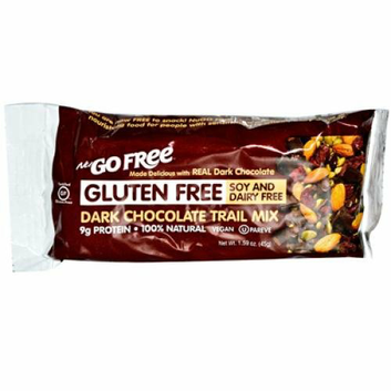 Nugo Nutrition Trail Mix Bar Gluten Free Dark Chocolate Case of 12 45 Grams