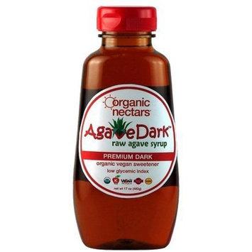 Organic Nectars Agave Syrup, Raw Premium Dark