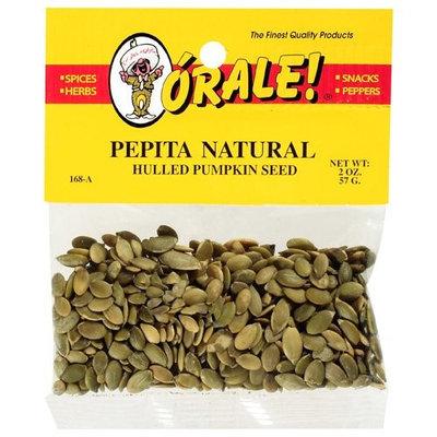 Orale Hulled Pumpkin Seed, 2 oz