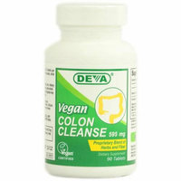 Deva Vegan Vitamins Deva Vegan Colon Cleanse 595 mg 90 Tablets