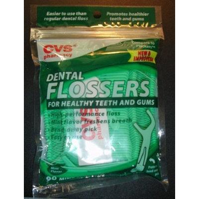 CVS Brand Dental Flossers (Mint Flavor) 90 Ct