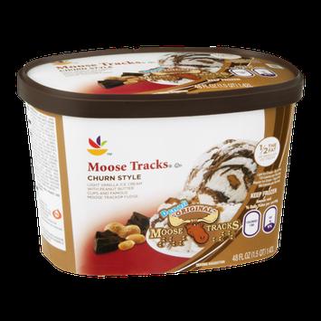 Ahold Ice Cream Moose Tracks Churn Style
