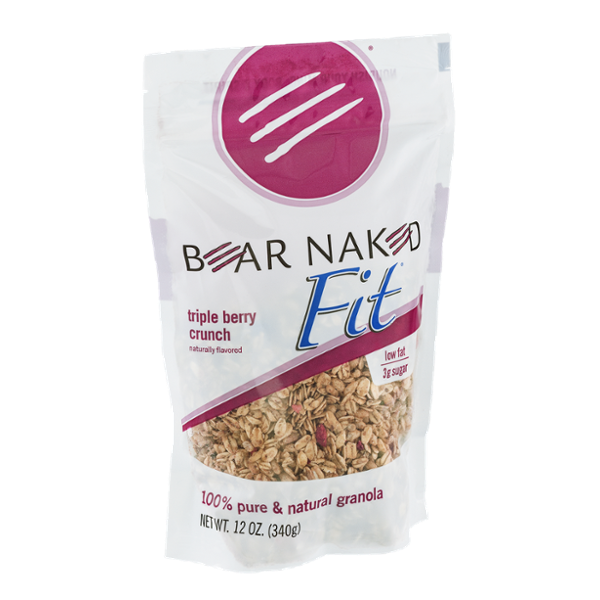 Bear Naked Fit 100% Pure & Natural Triple Berry Crunch