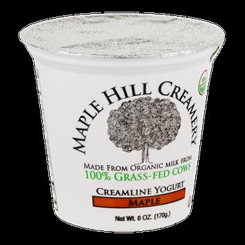 Maple Hill Creamery Creamline Yogurt, 100% Grass-Fed, Organic, Maple