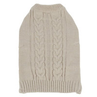 Top PawA Shimmer Cable Sweater