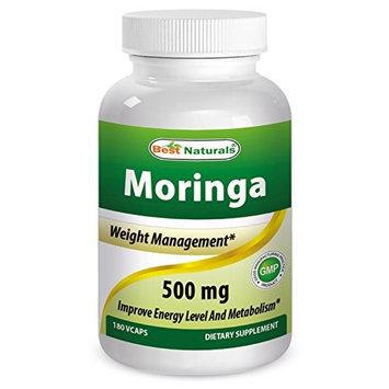 Best Naturals, Organic Moringa (Pure Moringa Oleifera leaf) 500 mg, 60 veggie Capsules (As featured