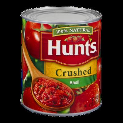 Hunt's 100% Natural Basil Crushed Tomatoes