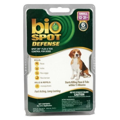 Bio Spot Defense Spot on Flea and Tick Dogs