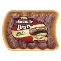 Johnsonville Beer 'n Bratwurst Brats 19 oz