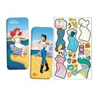 LEE PUBLICATIONS Educational Products Magnetic Paper Dolls Travel Tin - The Little Mermaid