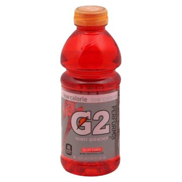 Pepsi Gatorade G2 Fruit Punch Sports Drink 20 oz