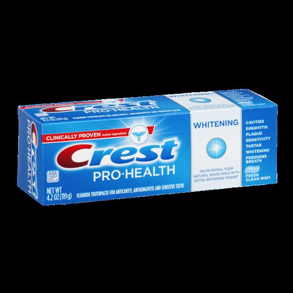Crest Pro-Health Whitening Toothpaste Fresh Clean Mint