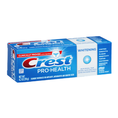Crest Pro-Health Whitening Toothpaste Fresh Clean Mint