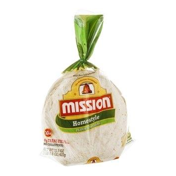Mission Flour Tortillas Homestyle - 10 CT
