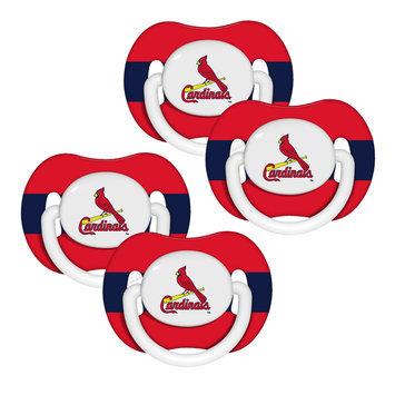 Kohls St. Louis Cardinals 4-Pk. Orthodontic Pacifiers