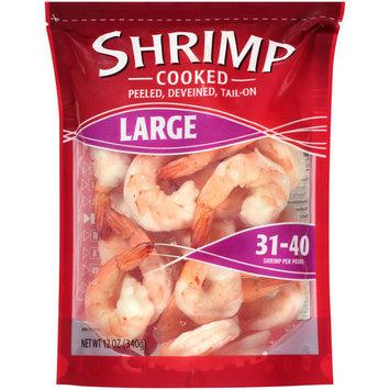 Walmart Large Cooked Shrimp, 12 oz