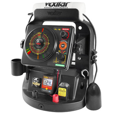 Vexilar UP18PVD FL-18 Ultra Pack ProView Ice-Ducer Combo