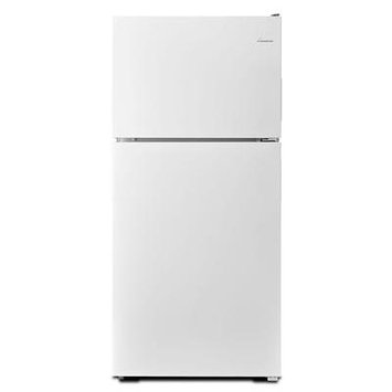 Amana ART318FFDW 18.2 Cu. Ft. White Top Freezer Refrigerator