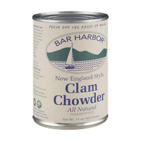 Bar Harbor All Natural New England Style Clam Chowder Soup