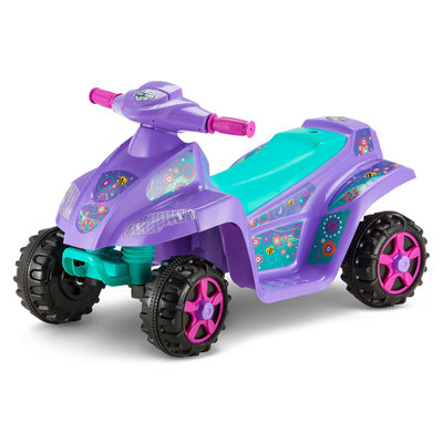 Kid Trax Melody Toddler Quad Battery Powered Scoot ATV