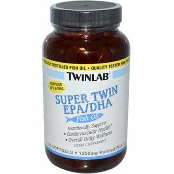 Twinlab Super Twin EPA DHA Fish Oil 100 Softgels