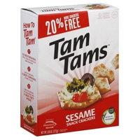Manischewitz, Cracker Snk Tamtam Sesame, 9.6 OZ (Pack of 12) ( Value Bulk Multi-pack)